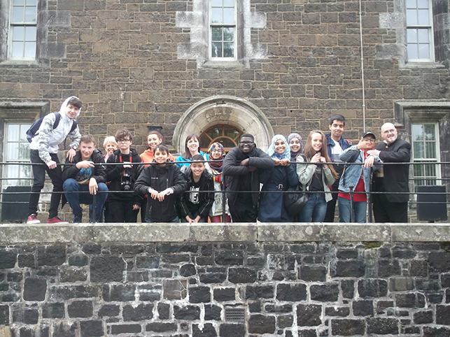 ESOL students visit Stirling Old Town Jail, June 2017